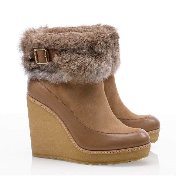 buy cheap pictures Tory Burch Andrea Wedge Ankle Boots looking for for sale new sale online sale genuine free shipping ebay qcdTN